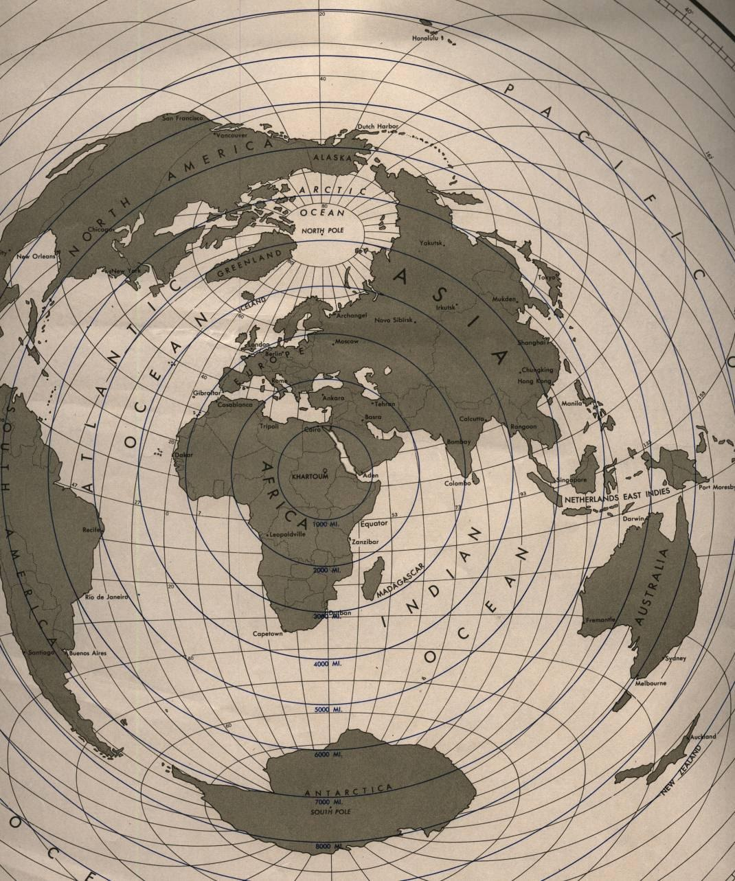 Expedition earth different map projections of the world world map projection khartoum africa centered gumiabroncs Choice Image