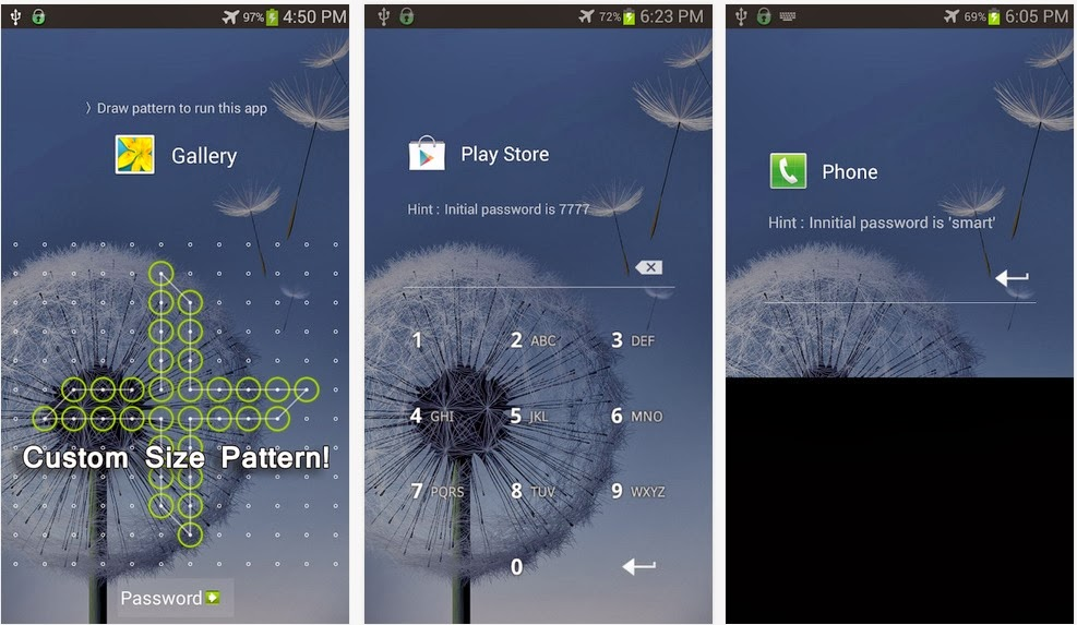Smart App Lock for android smartphones