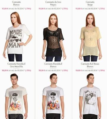 Camisetas Diesel
