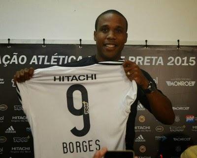 Separa a 9, Borges é apresentado na Ponte Preta