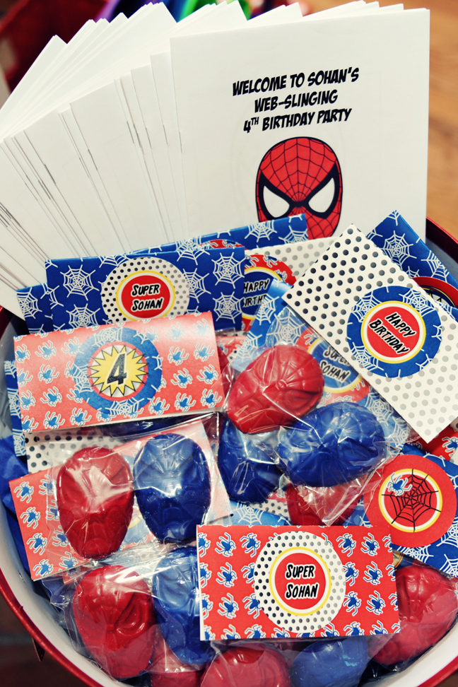 The Party Wall Spiderman Birthday Party Part 3 Games