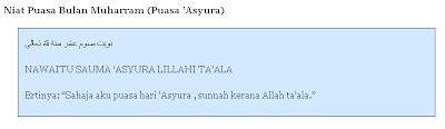 Selamat hari 'Asyura kepada semua umat islam