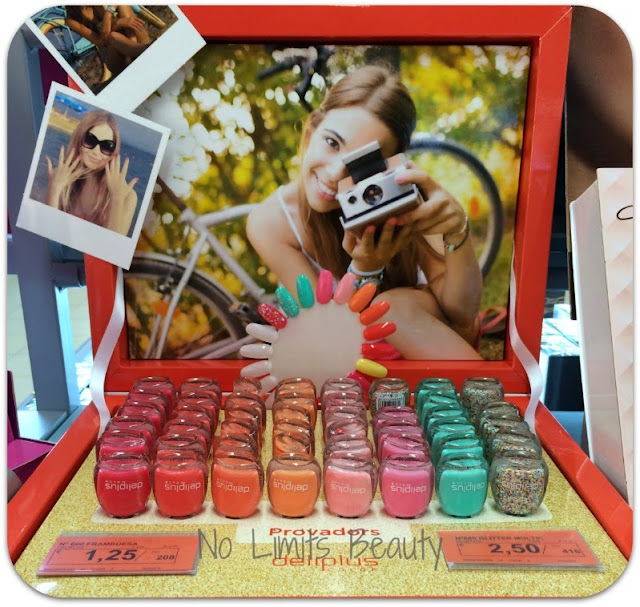 Esmaltes de uñas verano 2015- Deliplús