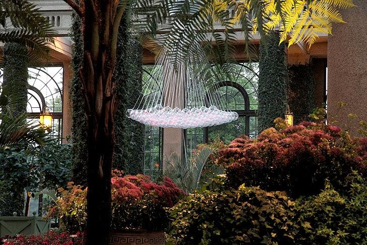 Solare Garten Beleuchtung für Herbst und Winter mit LED Leuchten