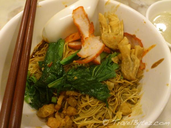 Pontian Wontan noodles