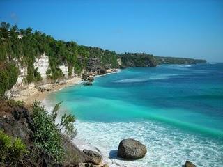 panorama sawarna beach