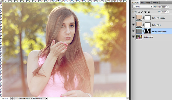 how to put pictures in layers on photoshop
