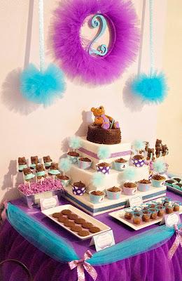 Tutu Birthday Party Cake