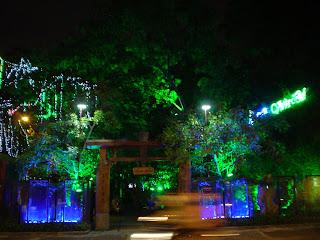 Night life in Vietnam