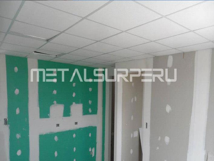 Techo falso drywall arequipa for Modelos de techos livianos