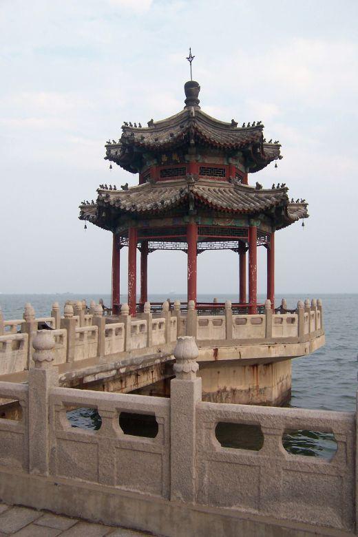 ide--gue.blogspot.com - Seperti inilah UJUNG dari tembok besar china, PENASARAN??
