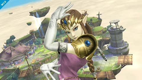 Super Smash Bros: Princess Zelda
