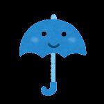 天気のマーク「傘」