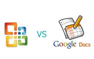 Comparising Between  Google Docs vs Microsoft Office