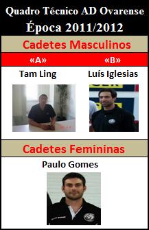 Staff Técnico Cadetes 2011/2012