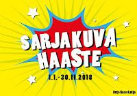 Sarjakuvahaaste (1.1.-30.11.2018)
