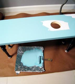 como decorar una mesa ratona