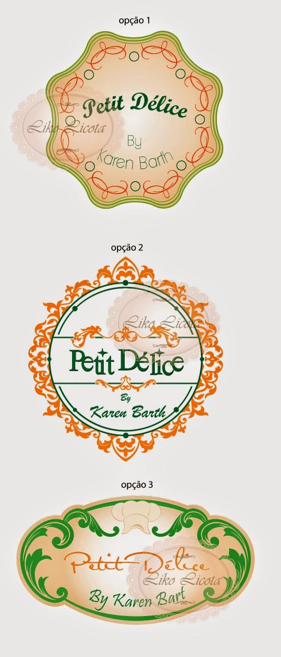 logotipo gourmet