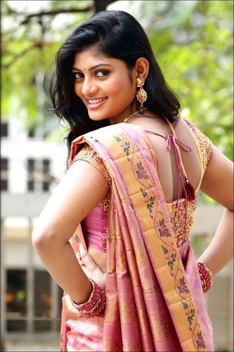 Soumya Hot Telugu Model Photos In Saree, Soumya Hot Thoppul Photos In