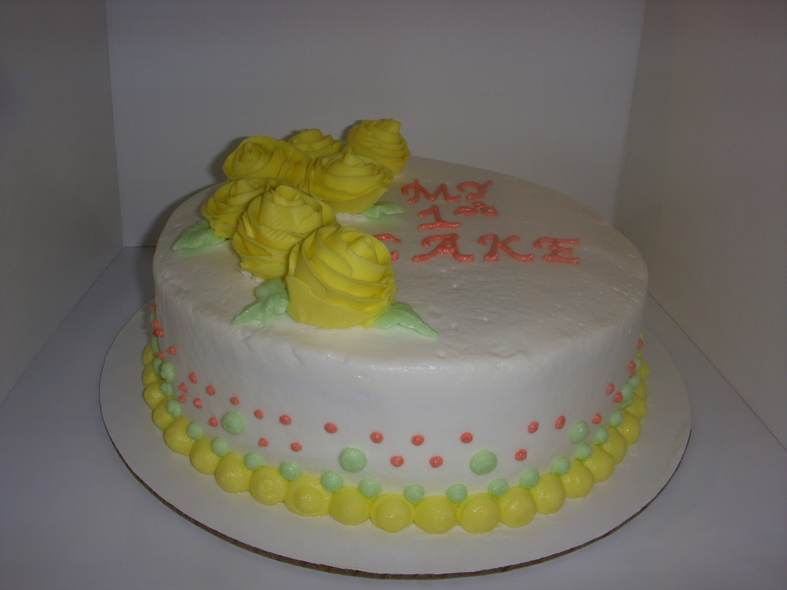 Love At First Cake: Wilton Basic Cake Decorating Class 4