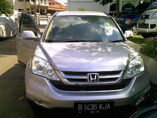 Pengiriman Honda CRV B 1435 KJA Jakarta ke Makasar