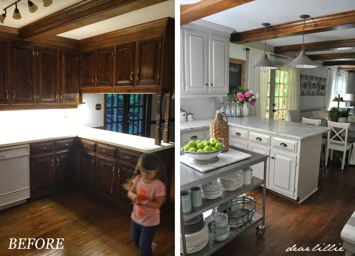 Kitchen Furnitures List Dear Lillie Our Kitchen Makeover Before And Afters And A Full