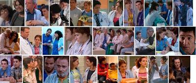 Escenas de Hospital Central - Rusti y Queca, Claudia y Gimeno, Cristina