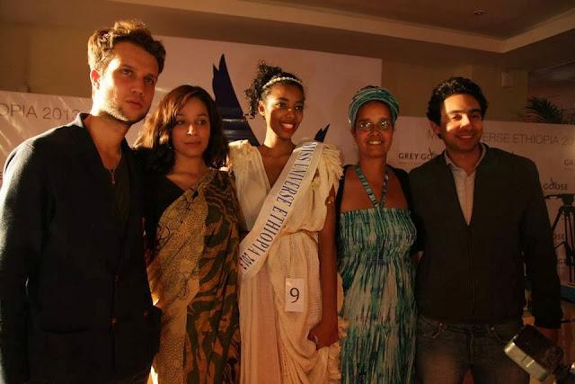 Miss Universe Ethiopia 2013 winner Mhadere Tigabe