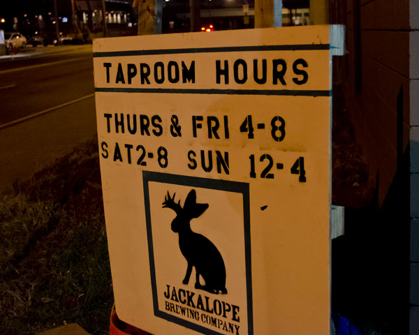 Jackalope Brewery located in Nashville Tennessee