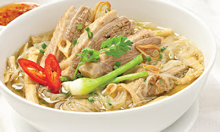 Vietnamese Bamboo Shoots and Chicken Noodle Soup Recipe 3