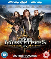 Download The Three Musketeers 3D (2011) BluRay 720p Half SBS 700MB Ganool