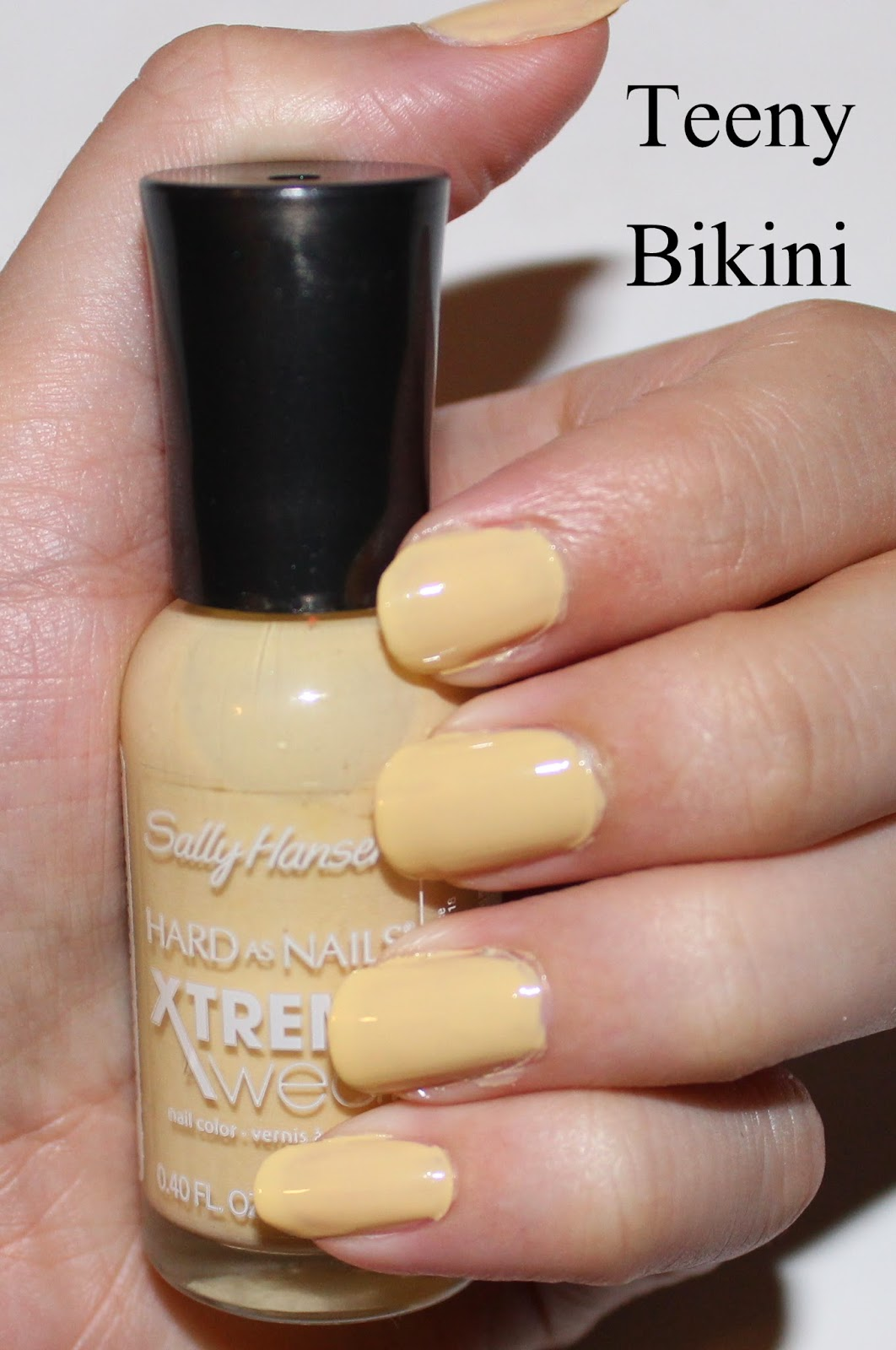 Sally Hansen Xtreme Wear in Teeny Bikini Swatch