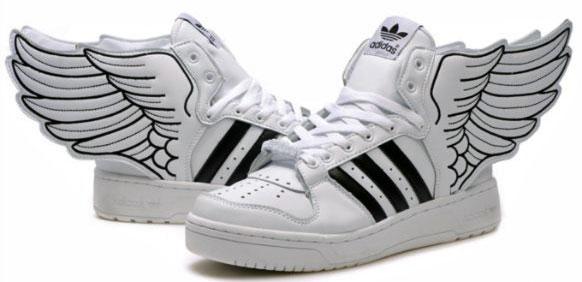 Adidas Skor Med Vingar
