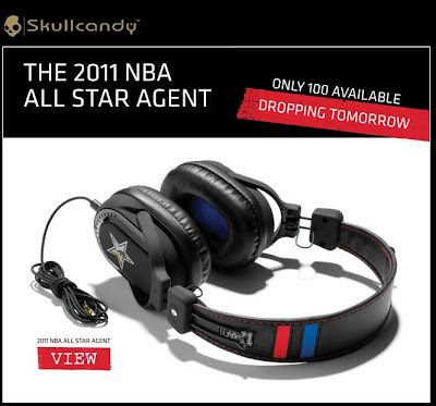 NBA ALL STAR Agent  SkullCandy