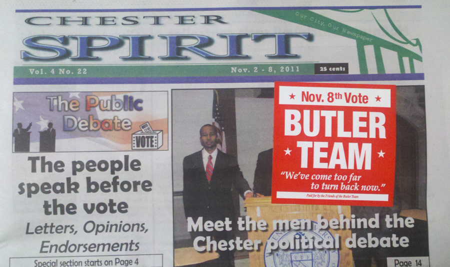 The Chester City Blog: Chester Spirit sticks it to readers ...