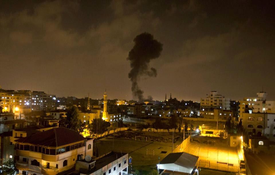 الحرب على غزة - مدونة كنوز