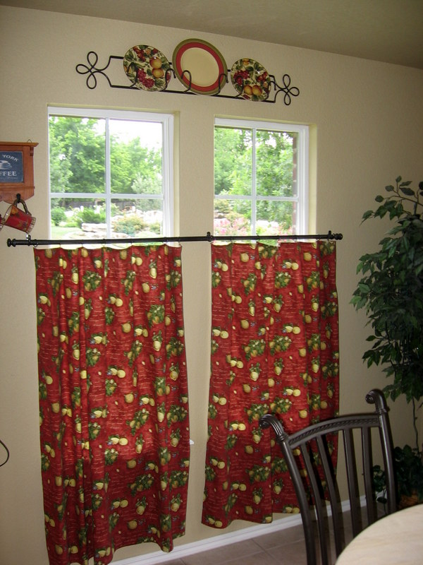 We Lived With Those Curtains For Many Years Even Though They Were Too Short I Ended Up Adding A Complimentary Fabric To The Bottom So Would Be