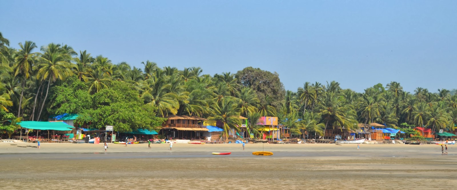 palolem beach in goa
