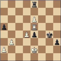 Partida de ajedrez Viladerbó vs. Pomar, Campeonato de España de 1946, posición después de 55…h3