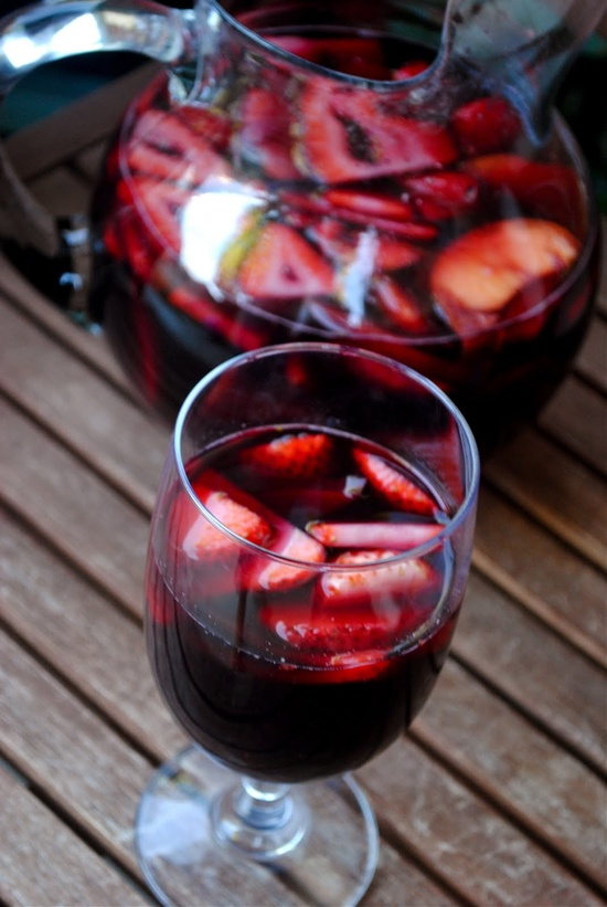 High heels and hangovers cocktail of the week sangria - Plastic sangria glasses ...