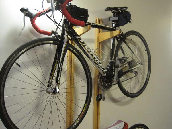 自転車の 一宮 自転車 : ... で遊ぼ!: 自転車ラックを自作