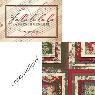 Moda FA LA LA LA LA Christmas Quilt Fabric by French General