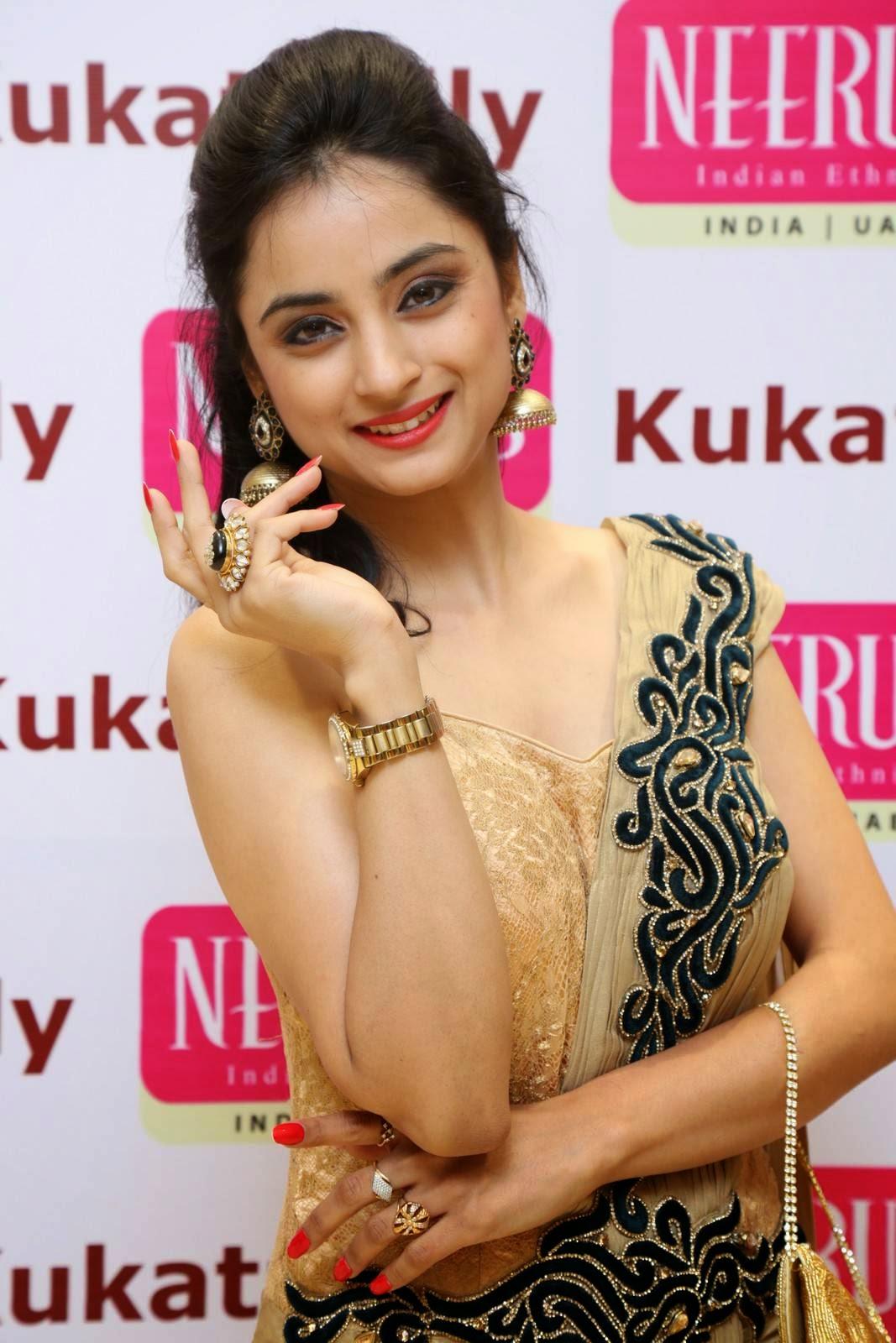 Madirakshi Stills At Neerus Show Room Launch Indian