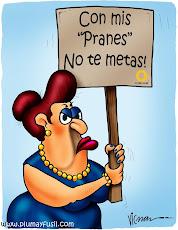 """Escuálida protestando en defensa de sus """"CANDIDATOS DE LA OPOSICION"""""""