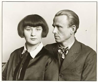 August Sander 1876- 1964  - Otto Dix et sa femme Martha