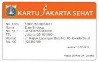 Kartu Jakarta Sehat