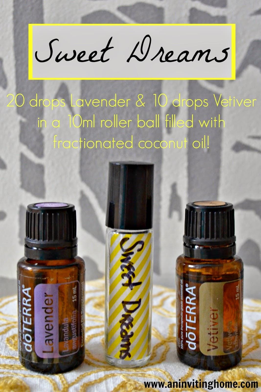 sweet dreams doterra essential oil recipe