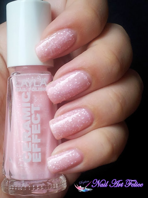 CE102 Bubble Cream - Ceramic Sorbet Effect Layla - Swatch03 - Nail Art Felice