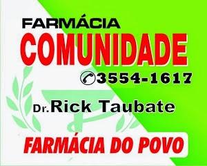 FARMÁCIA COMUNIDADE, A FARMÁCIA DO POVO,,