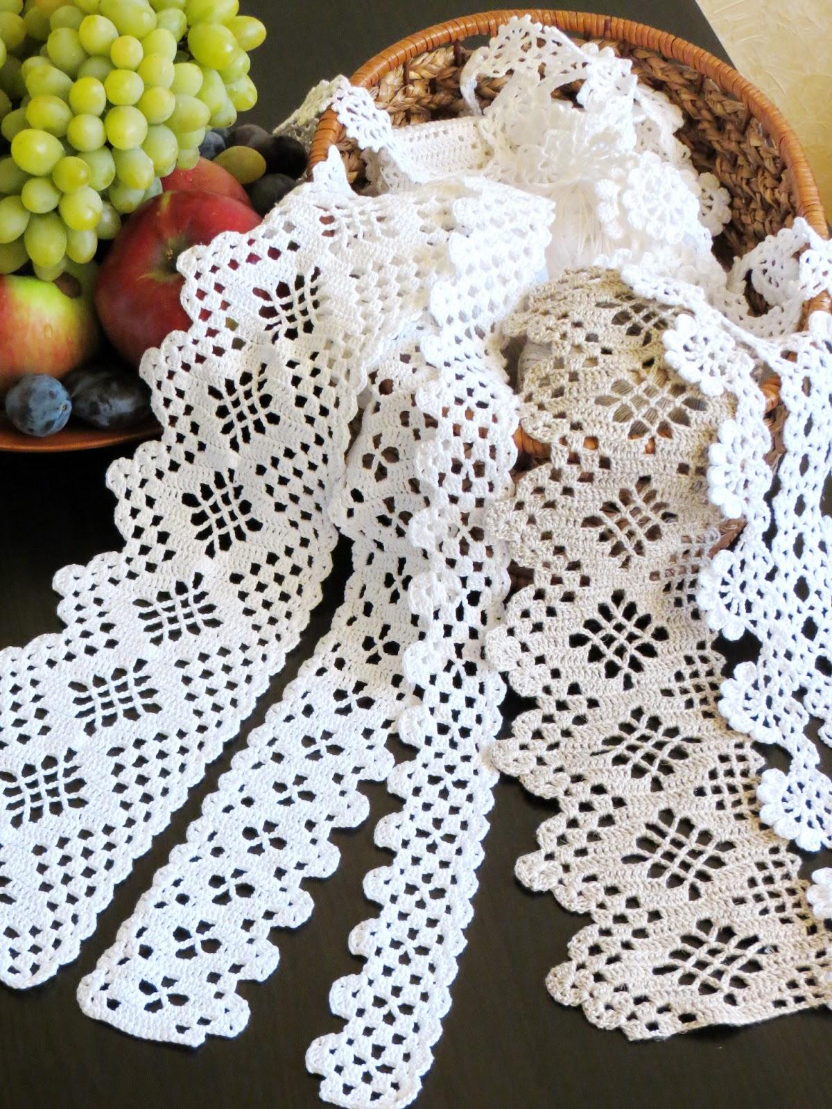 Как пришить кружево к вязаному изделию